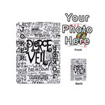 Pierce The Veil Music Band Group Fabric Art Cloth Poster Playing Cards 54 (Mini)  Front - Joker1