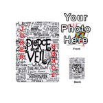 Pierce The Veil Music Band Group Fabric Art Cloth Poster Playing Cards 54 (Mini)  Front - Joker2