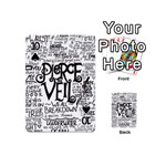 Pierce The Veil Music Band Group Fabric Art Cloth Poster Playing Cards 54 (Mini)  Front - Spade10
