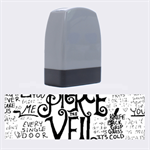 Pierce The Veil Music Band Group Fabric Art Cloth Poster Name Stamps 1.4 x0.5  Stamp