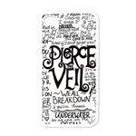 Pierce The Veil Music Band Group Fabric Art Cloth Poster Apple iPhone 4 Case (White) Front