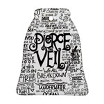 Pierce The Veil Music Band Group Fabric Art Cloth Poster Bell Ornament (2 Sides) Back