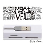 Pierce The Veil Music Band Group Fabric Art Cloth Poster Memory Card Reader (Stick)  Front