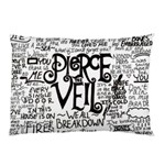 Pierce The Veil Music Band Group Fabric Art Cloth Poster Pillow Case (Two Sides) Back