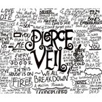 Pierce The Veil Music Band Group Fabric Art Cloth Poster Deluxe Canvas 14  x 11  14  x 11  x 1.5  Stretched Canvas