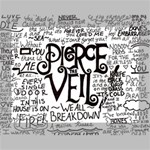 Pierce The Veil Music Band Group Fabric Art Cloth Poster Deluxe Canvas 16  x 12   16  x 12  x 1.5  Stretched Canvas
