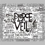 Pierce The Veil Music Band Group Fabric Art Cloth Poster Deluxe Canvas 20  x 16   20  x 16  x 1.5  Stretched Canvas