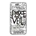 Pierce The Veil Music Band Group Fabric Art Cloth Poster Apple iPhone 4/4s Seamless Case (Black) Front