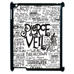 Pierce The Veil Music Band Group Fabric Art Cloth Poster Apple iPad 2 Case (Black) Front
