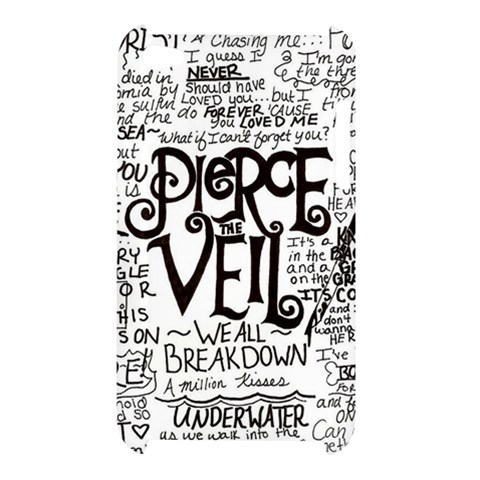 Pierce The Veil Music Band Group Fabric Art Cloth Poster Apple iPod Touch 4