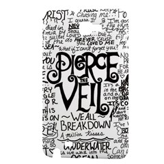 Pierce The Veil Music Band Group Fabric Art Cloth Poster Samsung Galaxy Note 1 Hardshell Case