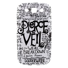 Pierce The Veil Music Band Group Fabric Art Cloth Poster Samsung Galaxy S III Hardshell Case