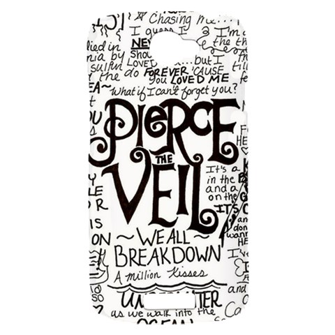 Pierce The Veil Music Band Group Fabric Art Cloth Poster HTC One S Hardshell Case