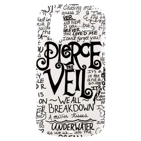 Pierce The Veil Music Band Group Fabric Art Cloth Poster HTC Amaze 4G Hardshell Case