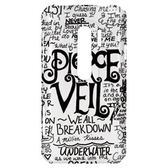 Pierce The Veil Music Band Group Fabric Art Cloth Poster HTC Evo 3D Hardshell Case