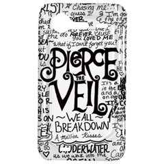 Pierce The Veil Music Band Group Fabric Art Cloth Poster HTC Incredible S Hardshell Case