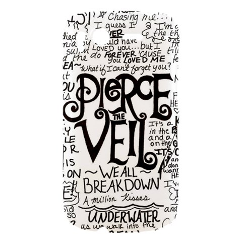 Pierce The Veil Music Band Group Fabric Art Cloth Poster HTC Desire S Hardshell Case
