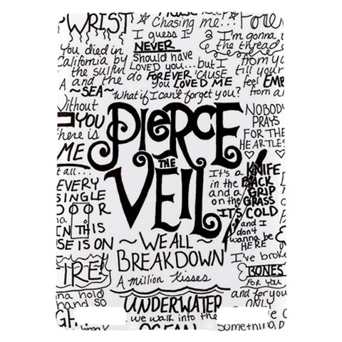 Pierce The Veil Music Band Group Fabric Art Cloth Poster Kindle Touch 3G