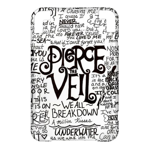 Pierce The Veil Music Band Group Fabric Art Cloth Poster Kindle 3 Keyboard 3G