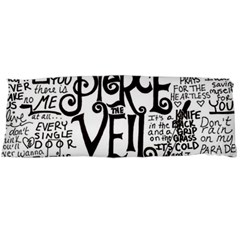 Pierce The Veil Music Band Group Fabric Art Cloth Poster Body Pillow Case (Dakimakura)