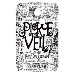 Pierce The Veil Music Band Group Fabric Art Cloth Poster Samsung S3350 Hardshell Case