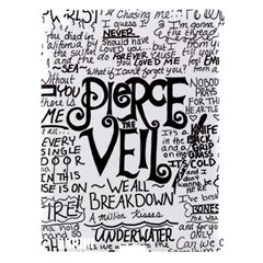 Pierce The Veil Music Band Group Fabric Art Cloth Poster Apple iPad 3/4 Hardshell Case (Compatible with Smart Cover)