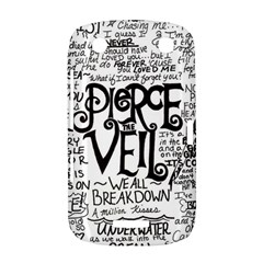 Pierce The Veil Music Band Group Fabric Art Cloth Poster BlackBerry Curve 9380