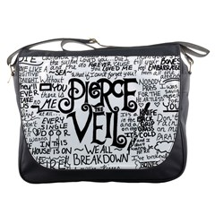 Pierce The Veil Music Band Group Fabric Art Cloth Poster Messenger Bags