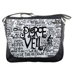 Pierce The Veil Music Band Group Fabric Art Cloth Poster Messenger Bags Front