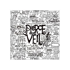 Pierce The Veil Music Band Group Fabric Art Cloth Poster Acrylic Tangram Puzzle (4  x 4 )