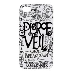 Pierce The Veil Music Band Group Fabric Art Cloth Poster Apple iPhone 4/4S Premium Hardshell Case