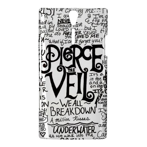 Pierce The Veil Music Band Group Fabric Art Cloth Poster Sony Xperia S