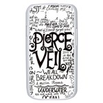Pierce The Veil Music Band Group Fabric Art Cloth Poster Samsung Galaxy S III Case (White) Front