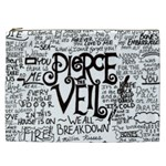 Pierce The Veil Music Band Group Fabric Art Cloth Poster Cosmetic Bag (XXL)  Front
