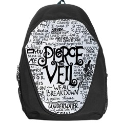 Pierce The Veil Music Band Group Fabric Art Cloth Poster Backpack Bag