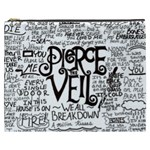 Pierce The Veil Music Band Group Fabric Art Cloth Poster Cosmetic Bag (XXXL)  Front