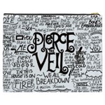 Pierce The Veil Music Band Group Fabric Art Cloth Poster Cosmetic Bag (XXXL)  Back