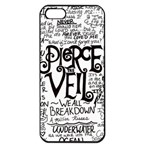 Pierce The Veil Music Band Group Fabric Art Cloth Poster Apple iPhone 5 Seamless Case (Black) Front