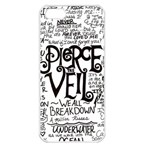 Pierce The Veil Music Band Group Fabric Art Cloth Poster Apple iPhone 5 Seamless Case (White) Front