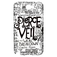 Pierce The Veil Music Band Group Fabric Art Cloth Poster Samsung Galaxy Note 2 Hardshell Case