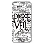 Pierce The Veil Music Band Group Fabric Art Cloth Poster Apple Seamless iPhone 5 Case (Clear) Front