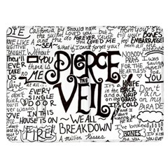 Pierce The Veil Music Band Group Fabric Art Cloth Poster Kindle Fire (1st Gen) Flip Case