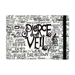 Pierce The Veil Music Band Group Fabric Art Cloth Poster Apple iPad Mini Flip Case
