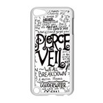 Pierce The Veil Music Band Group Fabric Art Cloth Poster Apple iPod Touch 5 Case (White) Front