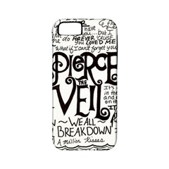 Pierce The Veil Music Band Group Fabric Art Cloth Poster Apple Iphone 5 Classic Hardshell Case (pc+silicone)