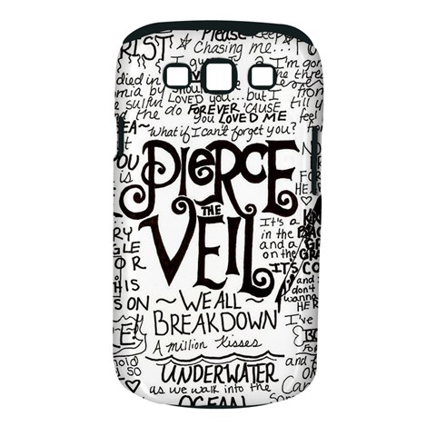 Pierce The Veil Music Band Group Fabric Art Cloth Poster Samsung Galaxy S III Classic Hardshell Case (PC+Silicone)