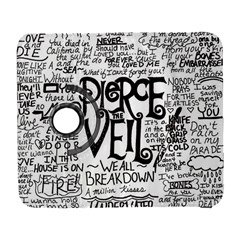 Pierce The Veil Music Band Group Fabric Art Cloth Poster Samsung Galaxy S  III Flip 360 Case