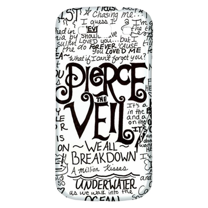 Pierce The Veil Music Band Group Fabric Art Cloth Poster Samsung Galaxy S3 S III Classic Hardshell Back Case
