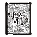 Pierce The Veil Music Band Group Fabric Art Cloth Poster Apple iPad 3/4 Case (Black) Front