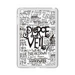 Pierce The Veil Music Band Group Fabric Art Cloth Poster iPad Mini 2 Enamel Coated Cases Front